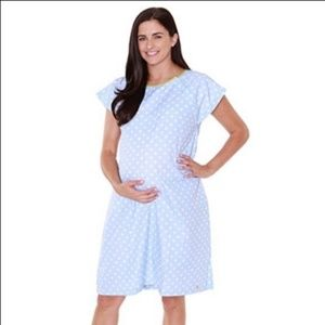 Baby Be Mine Maternity/Delivery Gown